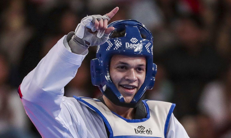 30.08.19 - Jogos Parapanamericanos Lima 2019 - Tae Kwon Do - Nathan Torquato 61kg classe k44.
