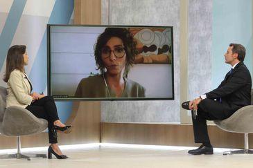 Tathiane Piscitelli está no Brasil em Pauta