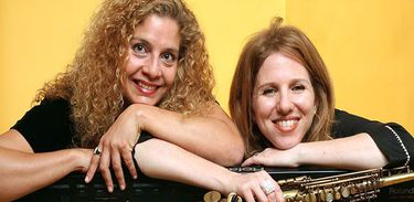 Daniela Spielmann e Sheila Zagury