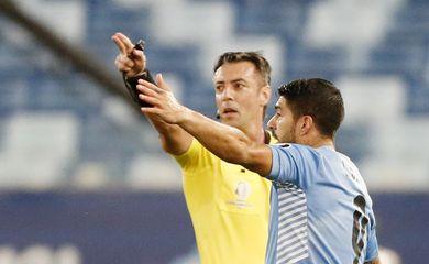 Uruguay, Chile, Raphael Claus, juiz, árbitro