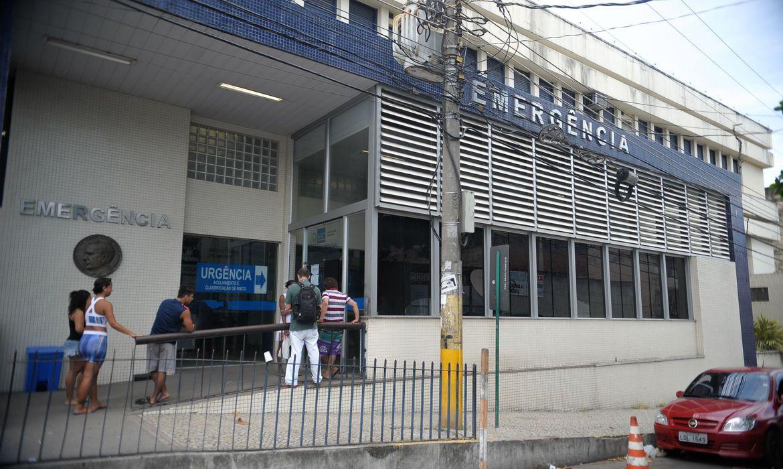 Rio de Janeiro - Hospital Estadual Getúlio Vargas, na Penha Circular, zona norte do Rio (Tomaz Silva/Agência Brasil)