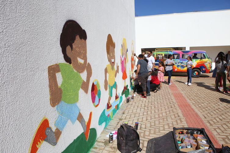 Osmar Terra participa da inauguração da Estação Cidadania, em Brumadinho
