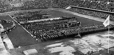 Estádio Olímpico de Helsinque - Olimpíada de 1952