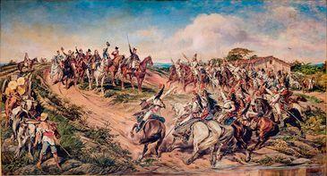 Independncia do Brasil Pedro Amrico gravuras imagens antigas independncia
