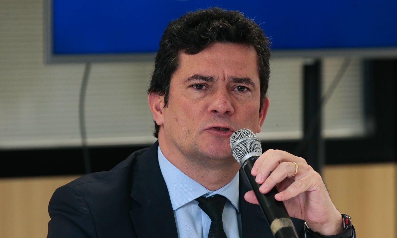 Oministro da Justiça e Segurança Pública; Sergio Moro; divulga o resultado dos trabalhos do governo federal e dos governos estaduais na coleta de perfis genéticos de criminosos para inserção no Banco Nacional de Perfis Genéticos (BNPG).