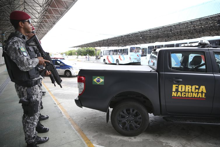 Força Nacional de Segurança faz policiamento ostensivo em Fortaleza
