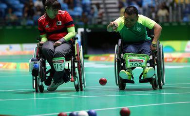 atleta, Maciel Santos, Bocha paralímpica, Rio 2016