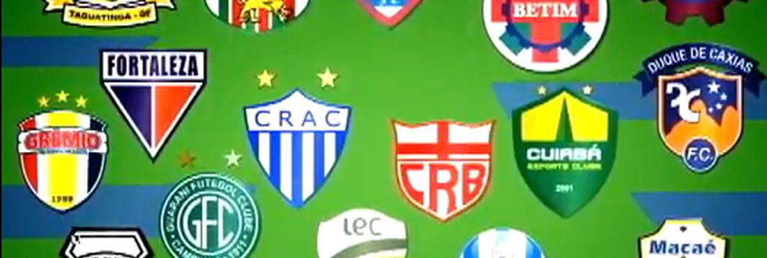 Vinte times disputam a Série C