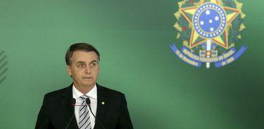 O presidente da República, Jair Bolsonaro, será empossado dia 1º de janeiro, em Brasília