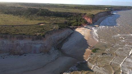 Brasil Visto de Cima visita a Costa do Descobrimento, no sul da Bahia