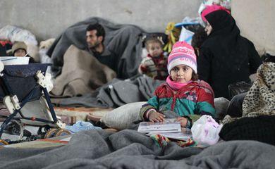 A falta de fundos para a Acnur está colocando em risco milhares famílias sírias refugiadas