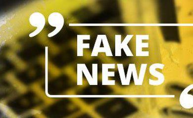 Banner fake news