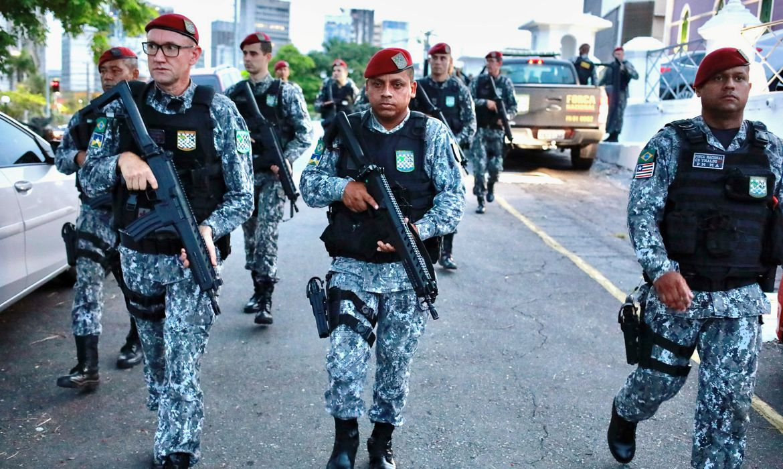 Força Nacional, greve da polícia militar em Fortaleza