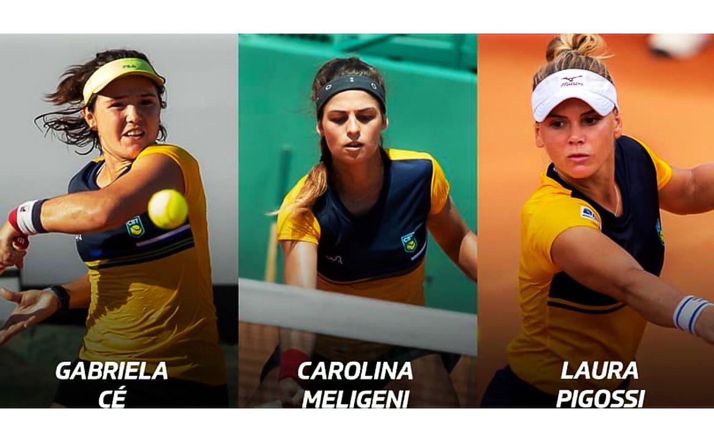 Seleção feminina de tênis é convocada para Bille Jean King Cup
