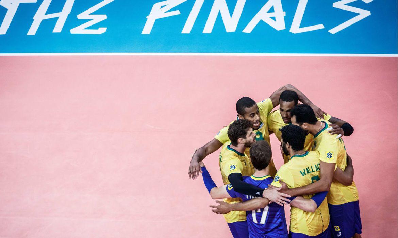 brasil, seleção masculina, liga das nações, vôlei