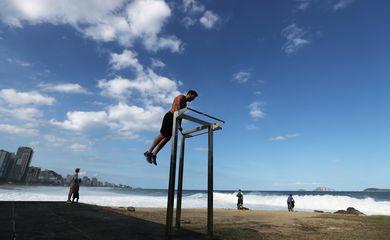 Rio, exercícios, praia