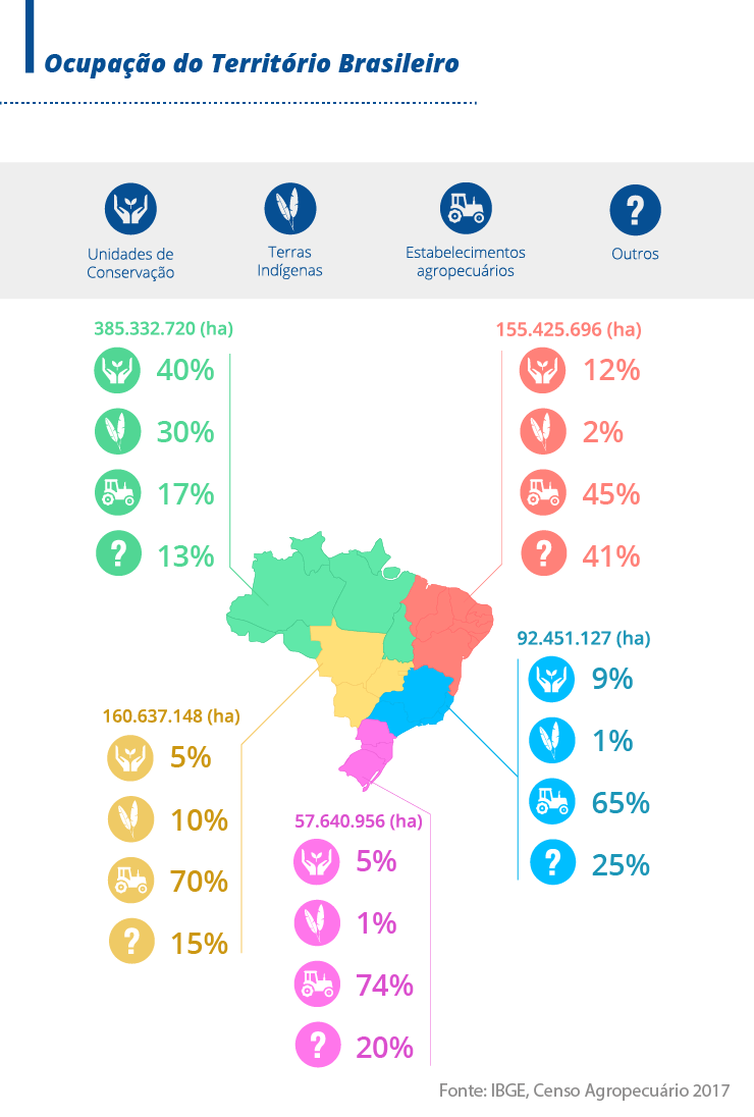 Infográfico Censo Agropecuário 2017