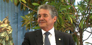Marco Aurélio Mello, ministro do STF, em entrevista ao Conversa com Roseann Kennedy