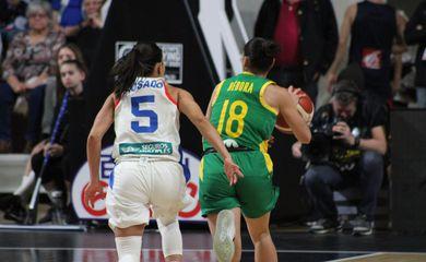 Brasil x Porto Rico, basquete feminino