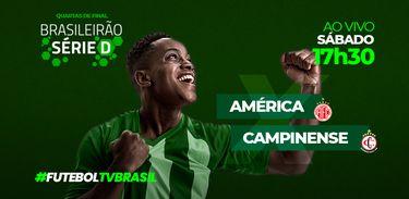 Série D América x Campinense