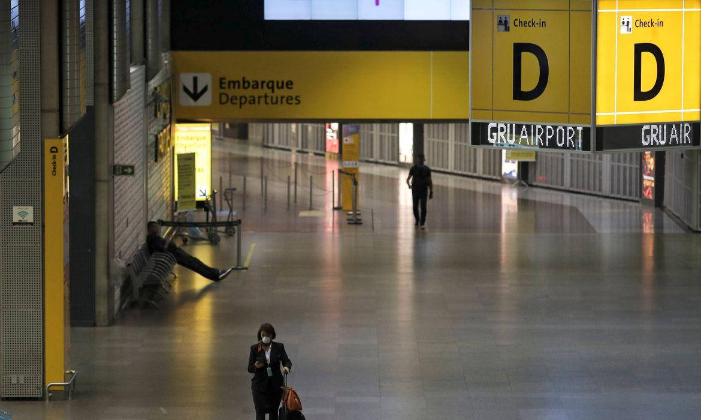 Aeroporto Internacional de Guarulhos; coronavírus COVID-19; Guarulhos