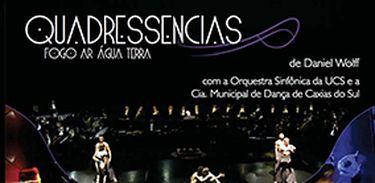 """Capa do DVD do balé """"Quadressencias"""""""