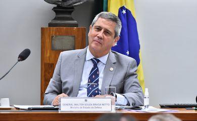 Audiência Pública - Discutir a implementação da Política Nacional de Defesa (PND), da Estratégia Nacional de Defesa (END) e do Livro Branco da Defesa Nacional (LBDN)*. Ministro de Estado da Defesa, General - Walter Souza Braga Neto