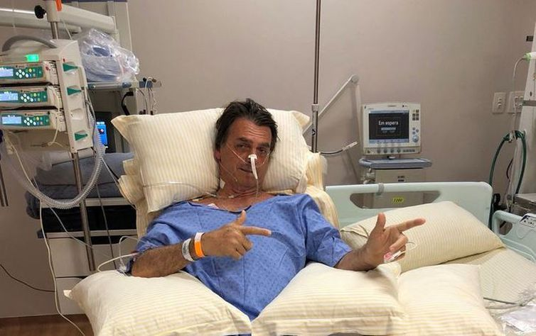 Bolsonaro no hospital