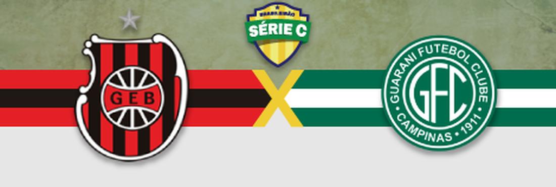 Brasil de Pelotas x Guarani enfrentam-se neste sábado (19), às 19h