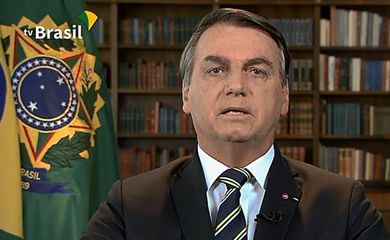 Pronunciamento do presidente Jair Bolsonaro