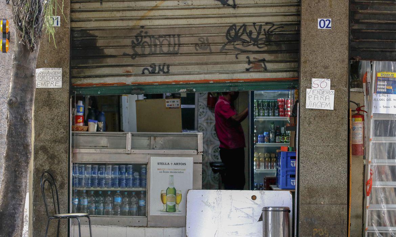 Bares funcionando na zona sul do Rio de Janeiro