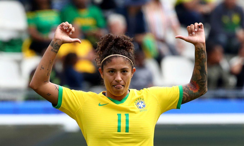Copa do Mundo Feminina 2019: Gol de Cristiane do Brasil contra a Jamaica