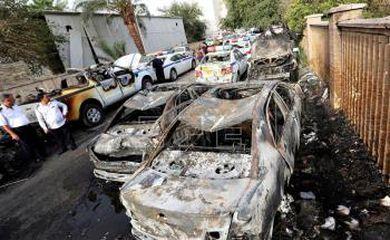 Atentado no centro de Bagdá - Agência EFE