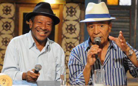 Noca da Portela e Monarco no programa Samba na Gamboa da TV Brasil