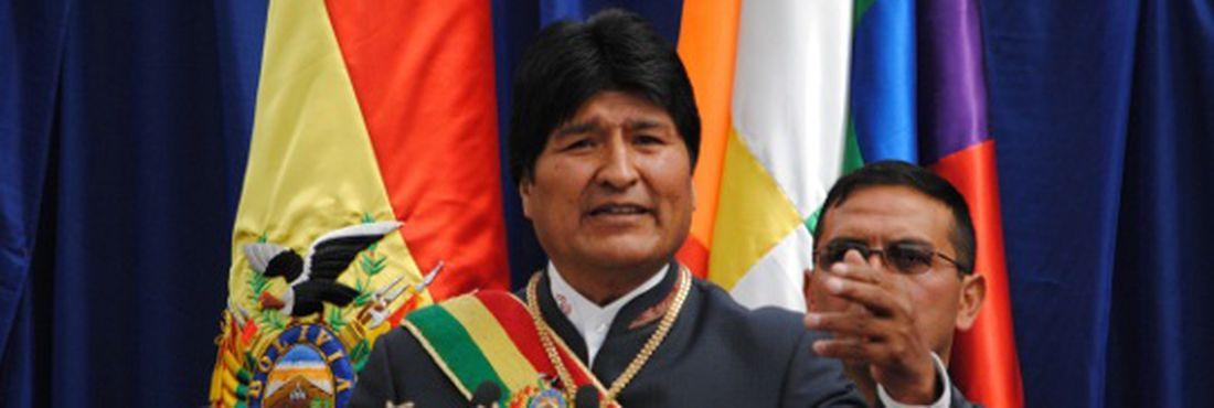 Morales quer erradicar a pobreza na Bolívia até 2025 e pede ajuda da sociedade