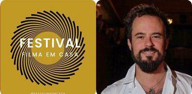 Paulo Vilhena é um dos criadores do festival Filma em Casa