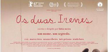 cartaz do filme As Duas Irenes (2017)