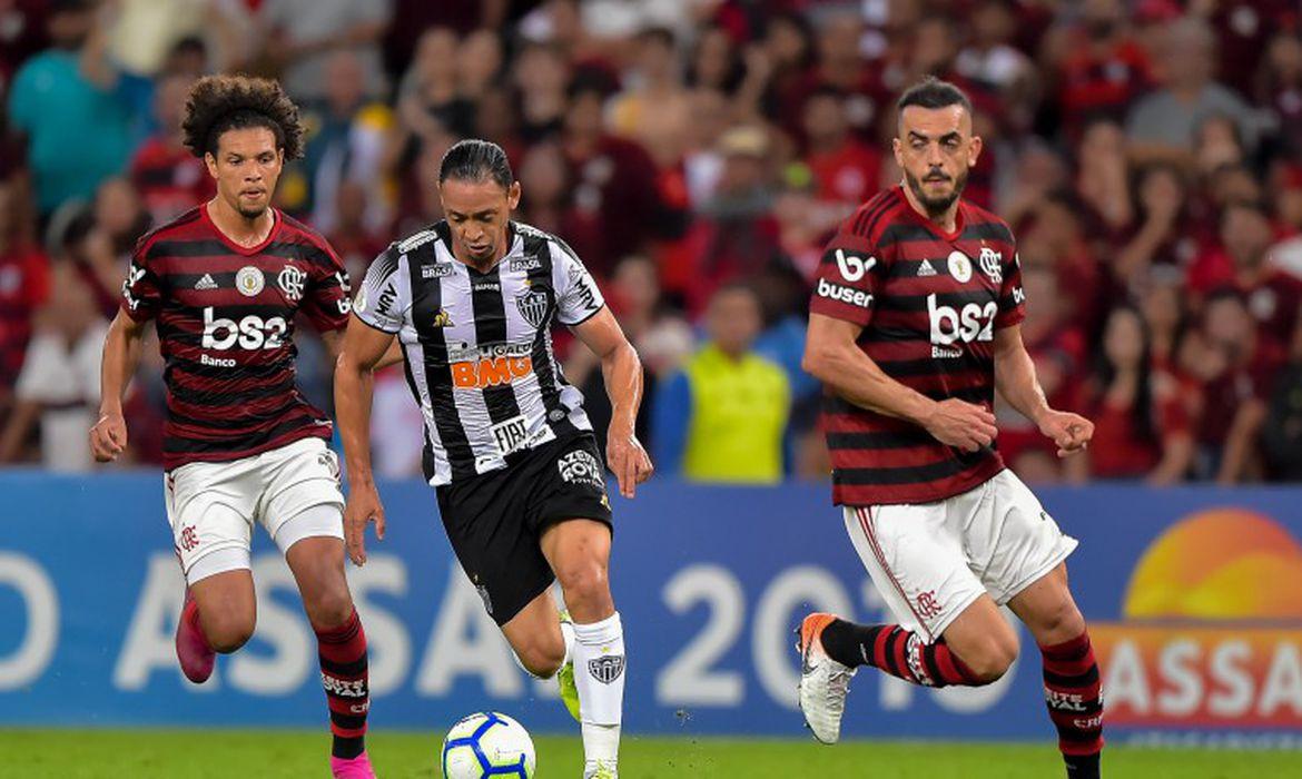 O Flamengo venceu o Atlético-MG por 3 a 1