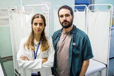 Ana Petta interpreta a médica Laura que contracena com o médico Paulo, papel de Caco Ciocler