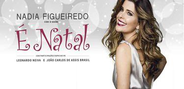 """Cartaz do Espetáculo """"É Natal"""", de Nádia Figueiredo"""
