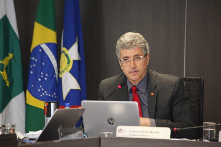 Orlando Rochadel Moreira, corregedor do Conselho Nacional do Ministério Público (CNMP).
