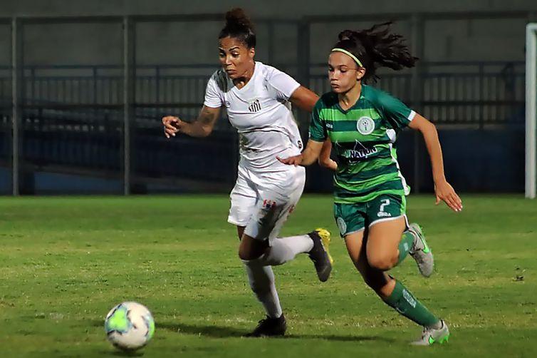 2ª Rodada do Campeonato Brasileiro Feminino A-1: Iranduba x Santos. Por 3x0, Santos venceu o Iranduba no Estádio Ismael Benigno Créditos: Iranduba/Divulgação