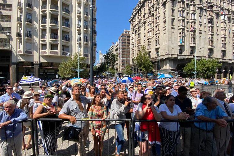 Cerimônia de posse de Luis Lacalle Pou, novo presidente uruguai