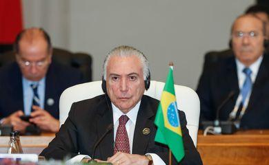 Presidente Temer participa da 10ª Cúpula do Brics