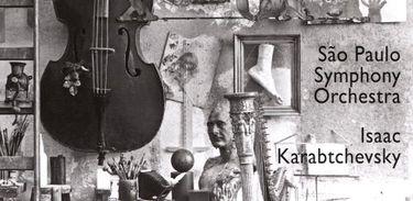 Capa do CD com as Sinfonias de Villa-Lobos