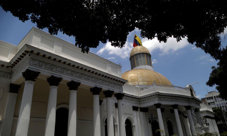 General view of Venezuela's National Assembly building in Caracas, Venezuela May 10, 2019. REUTERS/Ueslei Marcelino