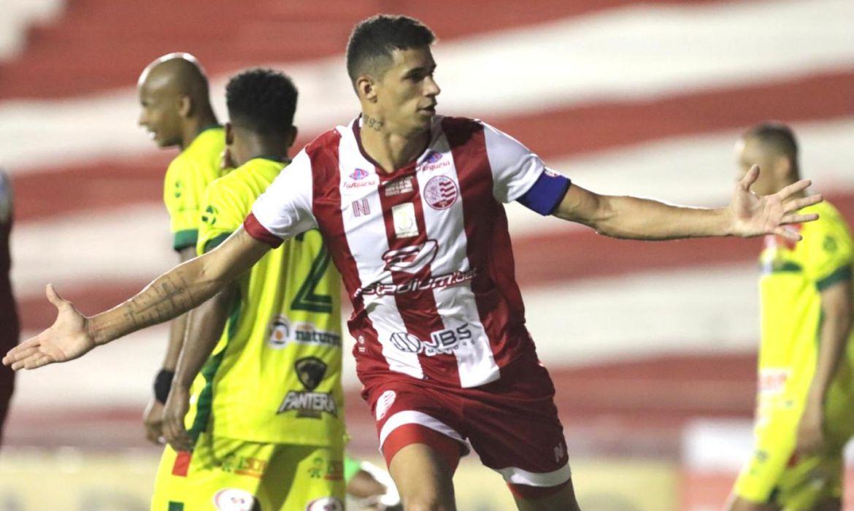 Camutanga marcou o gol da vitória do Náutico sobre o Sampaio Corrêa pela Série D