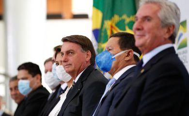 (Brasília - DF, 08/02/2021) Cerimônia de Lançamento da Plataforma Participa + Brasil. Foto: Alan Santos/PR