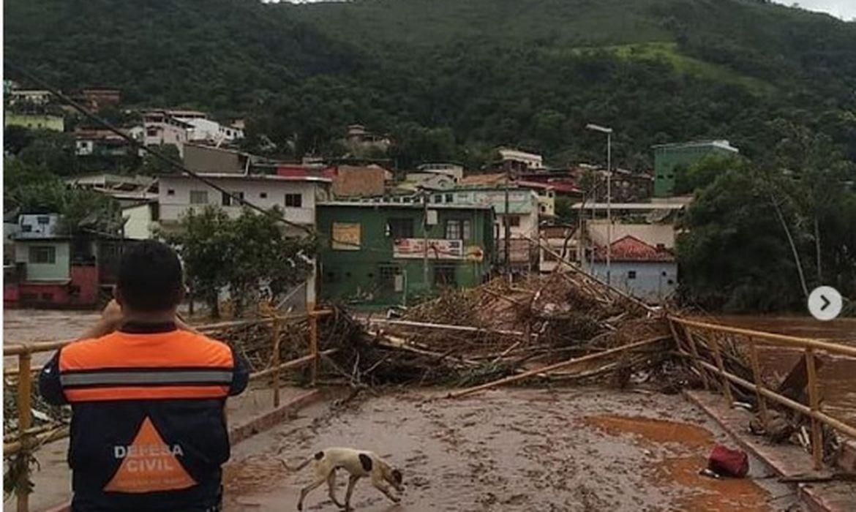 Em Raposos, a Defesa Civil de Minas Gerais atuou em resposta às chuvas e tem apoiado no restabelecimento da normalidade no município.