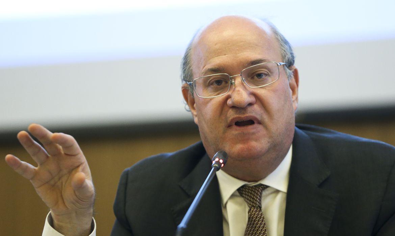 O presidente do Banco Central, Ilan Goldfajn, dá entrevista coletiva sobre a condução da política monetária.